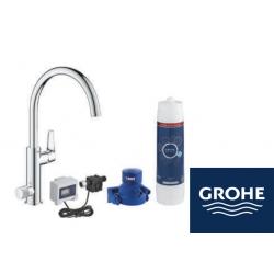 GROHE Blue Pure BauCurve кухненски смесител за филтрирана вода