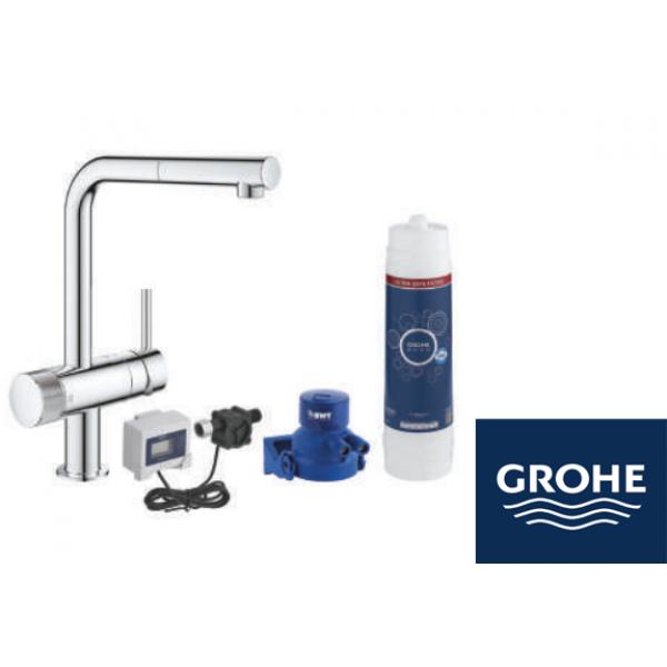 GROHE Blue Pure Minta кухненски смесител за филтрирана вода
